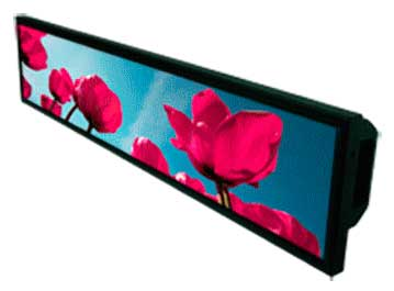 28�Resizing LCD,1000 nits LED backlight, 1366x256 ultra wide aspect ratio 16:3 : SSD2815 -> LITEMAX