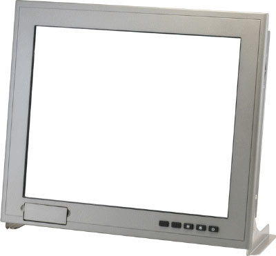 "15"" XGA Rugged Touch Display With Remote Display Technology : AGD-315R"