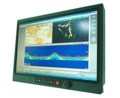 "17"" IP68 Sunlight Readable Marine Display : NAVPIXEL NPD1744 -> LITEMAX"