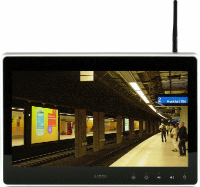"15.6"" WXGA Infotainment Touch Display With Industrial Cloud Technology : ACD-515C -> AAEON"