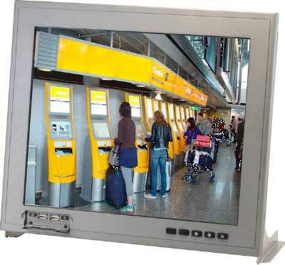 "Panel PC 12.1"" Fanless Touch Panel Computer With Onboard Intel Atom D510 : AHP-2122"