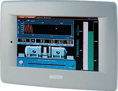 "Panel PC 7"" WVGA LED LC With TI OMAP 600 MHz Processor : AHP-1070"