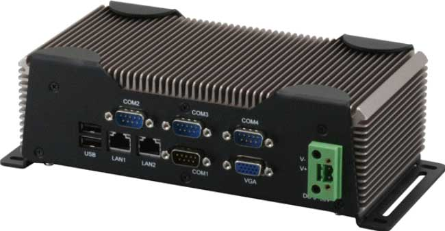 AEC-6613 : Fanless Embedded Controller With Intel NM10 Chipset -> AAEON