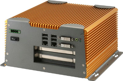 AEC-6924 : Advanced Fanless Embedded Controller With Intel Core 2 Duo Processor And PCI-Express Expansion -> AAEON
