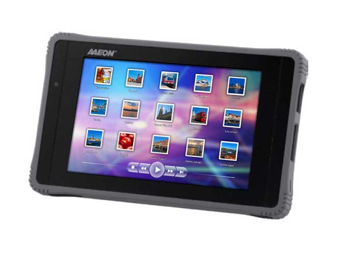 "Tablette durcie 7"" Intel Atom Z670  : RTC-700T -> AAEON"