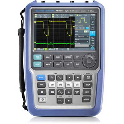 Oscilloscope portable 2 voies - 60 MHz : RTH1002