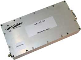Amplificateur RF haute tension : Amplifier Technology