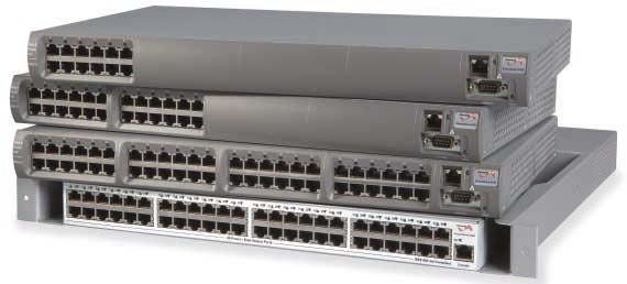 Convertisseur PoE Midpsan IEEE 802.3AF, 6, 12, 24 et 48 ports, NMS : S�rie 6500