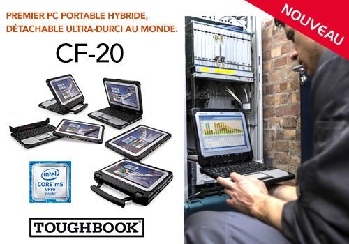 CF-20 Pc portable hybride ultra-durcis Toughbook