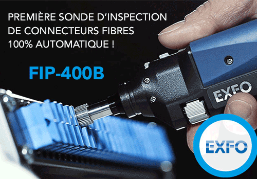 sonde inspection fibre EXFO