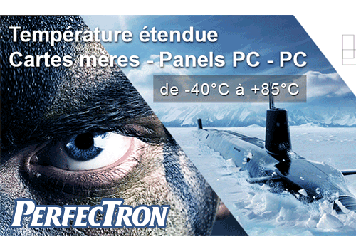 Temperature etendue Perfectron