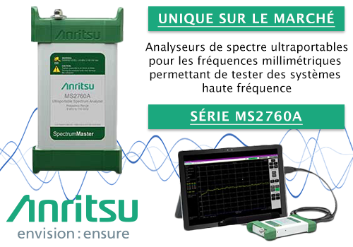 Analyseur de spectre MS2760A