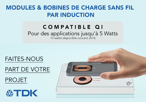 bobines et modules de charge sans fil