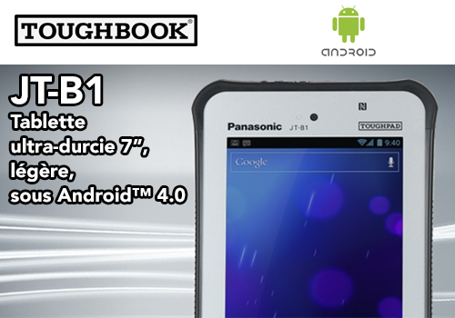 JT-BA Tablette durcie Panasonic Toughbook