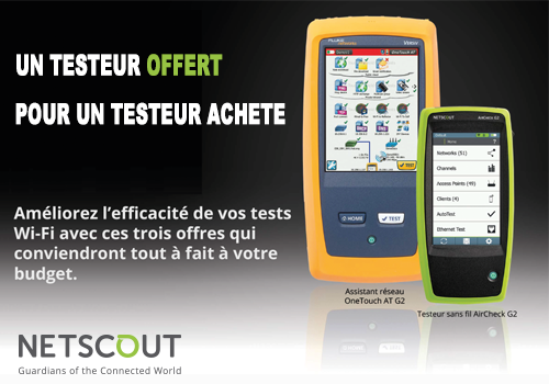 Promotion Netscout
