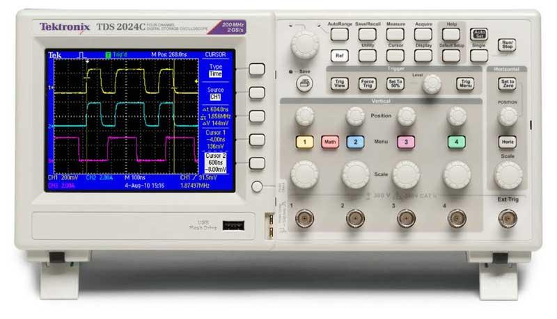 oscilloscope sur pc