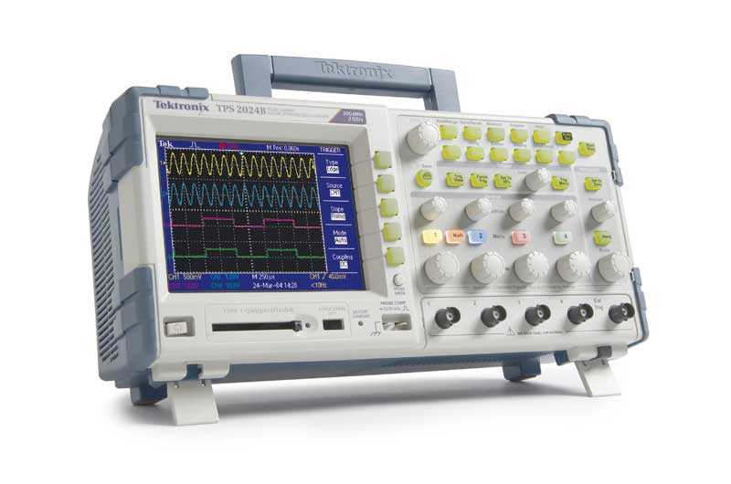 Oscilloscope Portable 4 voies - 200MHz : TPS2024B -> TEKTRONIX