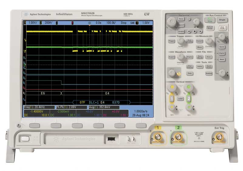 Oscilloscope num�rique 1GHz - 4 voies : DSO7104B