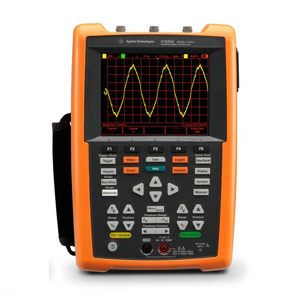 Oscilloscope portable 2 voies - 200Mhz : U1620A