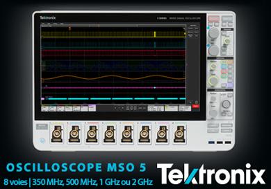 Oscilloscope MSO 5 Tektronix