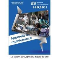Catalogue HIOKI dédié à la Maintenance