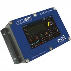 Controleur de CO2-O2 et C2H4 pour chambre de murissement maturation : F-901R