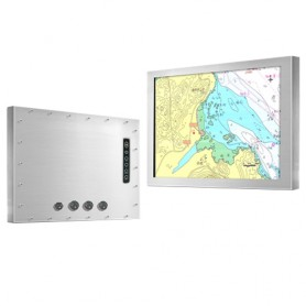 "Stainless Panel PC IP66 10.4"" : MR-FPCH10452"