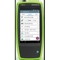 Testeur portable de réseau intelligent : LinkRunner G2