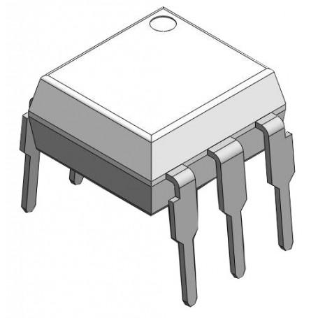Optocoupleur de transistor DC 5 000 VRMS : 4N2x