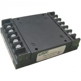 Convertisseur DC/DC chassis mount rail DIN 150 W : Série HCM