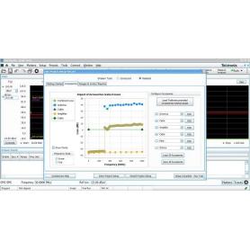 Logiciel solution pré-conformité et déblocage pour analyseur de spectre : EMCVu