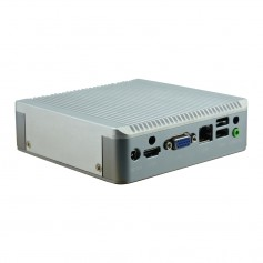 Fanless PC Palm dual LAN Box : DBYT-30