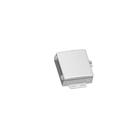 Die Cast Enclosure with integrated 19dBi 4940-5850MHz 19dBi Antenna in hinged cover : DCE-ANT5819-7x6x2