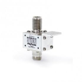 Parafoudre RF coaxial de 1,5 MHz to 1 000 MHz : Série IS-B50