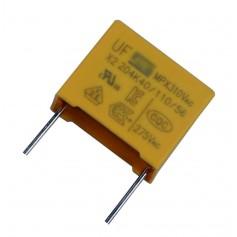 Condensateur en film de polypropylène métallisé X2