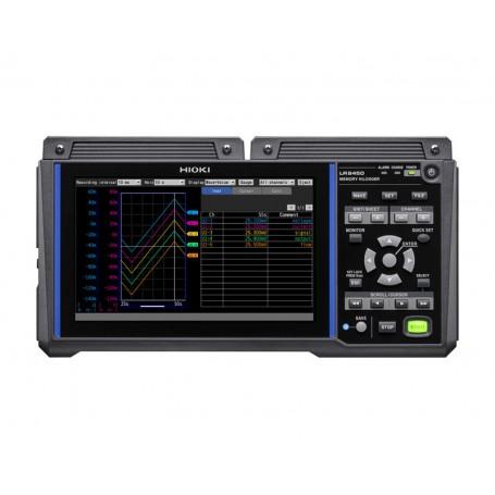 Enregistreur de données sans fil à 1 ms jusqu'à 330 voies : LR8450 / LR8450-01