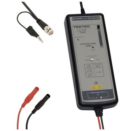 Sonde différentielle 100 MHz : TT-SI 9101