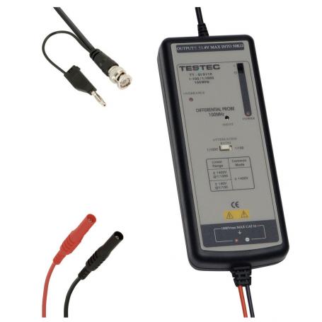 Sonde différentielle 100 MHz : TT-SI 9110