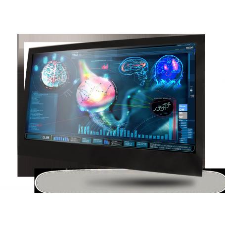 "27"" Fanless Slim Medical LCD Monitor : MEDDP-627"