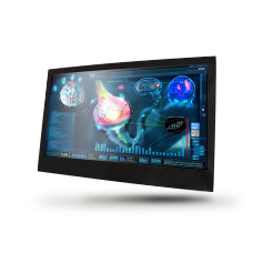 "24"" Fanless Slim Medical LCD Monitor : MEDDP-624"