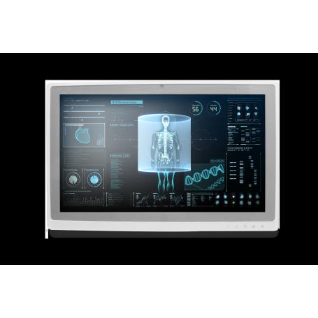 "22"" Fanless Slim Medical LCD Monitor : 22"" : MEDDP-722"
