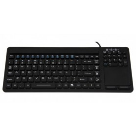 Clavier anti-bacterien IP68 lavable : SK308