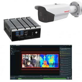 Système de contrôle thermique de la température corporelle pouvant identifier jusqu'à 10 personnes simultanément : iMage-F