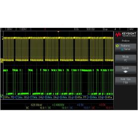 Pack de décodages d'analyse embarqué pour oscilloscopes 2000X : D2000GENA