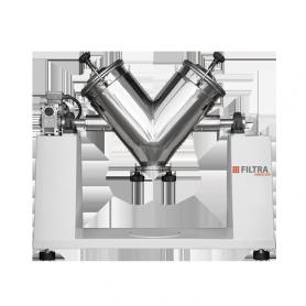 Mélangeur en « V » industriel : ATENEA FTMV-16 / 25 / 75 / 250 / 500