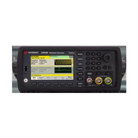 Générateur de fonctions / signaux arbitraires / impulsions 30 MHz 1 voie : 33519B