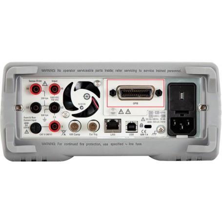 Ajouter la connexion GPIB au multimètre et au générateur