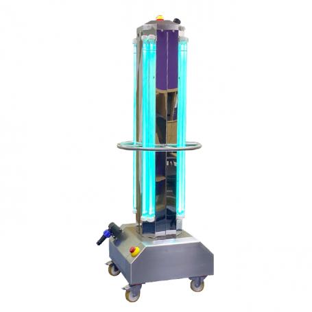 Chariot de décontamination UVC de l'air et des surfaces: LightSaverUV
