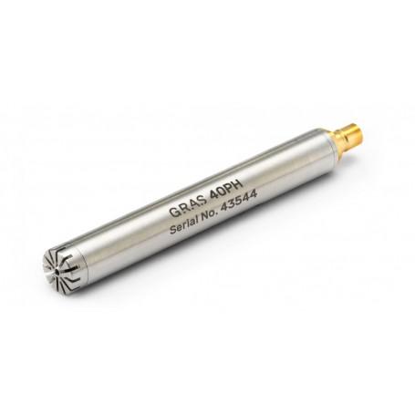 Microphone de mesure acoustique CCP 50 mV/Pa : 40PH