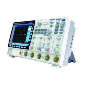 Oscilloscope rapide 150MHz, 2 voies et avec écran tactile : GDS-3152